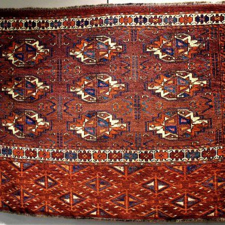 Chuval cm. 72x113 tribù Tekke secolo XIX Rif. P007