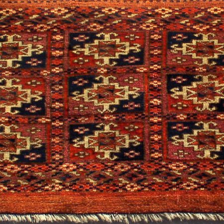 Torba cm.32 x85 tribù Saryk secolo XIX Rif. 504